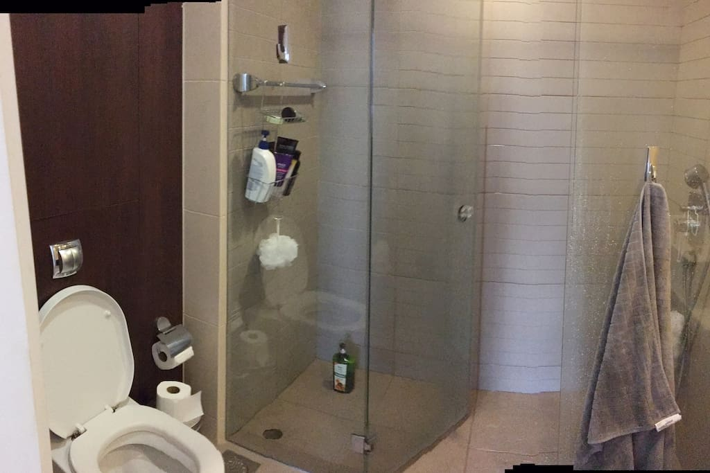 Your own private bathroom with shower (not ensuite)