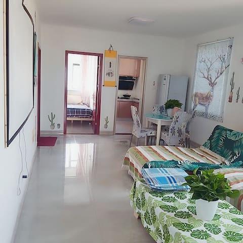 360度全海景高档别墅高层海景房,网红名宿,2居室,可做饭,坐着看日出的海景房