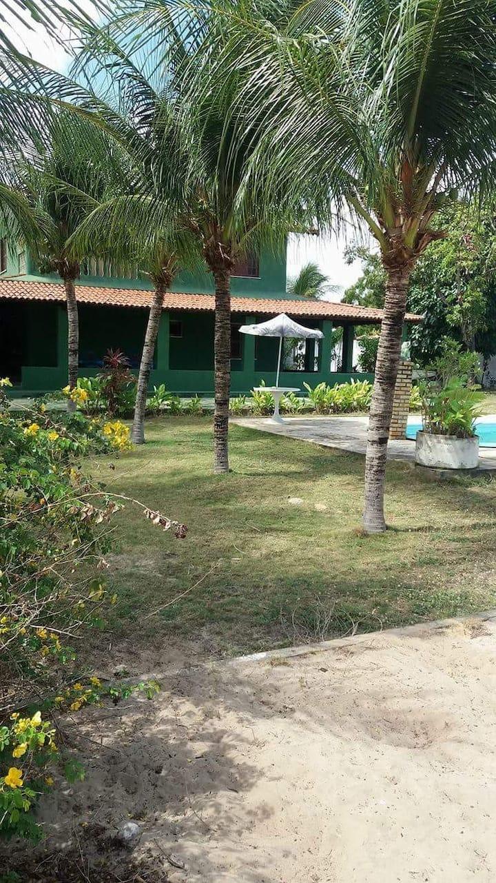 Season Beach House with Pool and Green Area