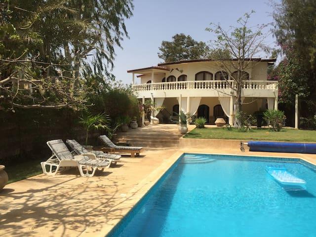 villa warang plage