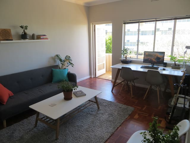 Main Room in Super Central Cape Town Apartment