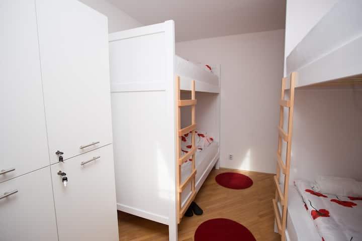 Bed in hostel