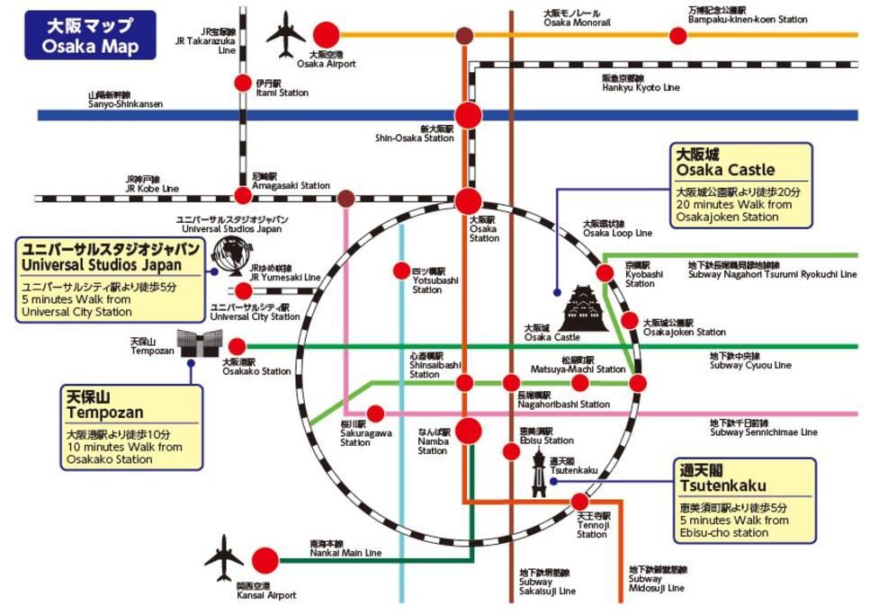 電車地図/train map