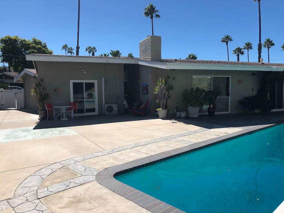Pool and Entry