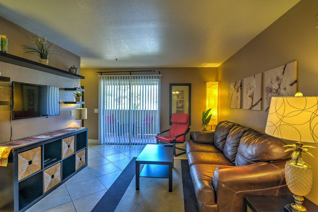 Make yourself at home during your exciting Vegas getaway.