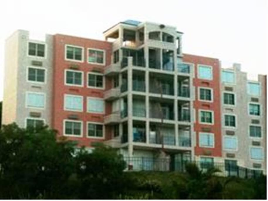 The Apartment Building. Our apartment its the Penthouse