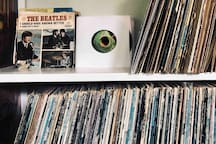 Fancy listening to some vinly? Ask Allen to share with you his collection with you & we will put on your favorite tunes.