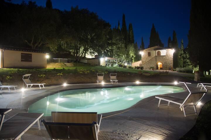 Villa Agatha - Italy, Tuscany, sea proximity - Monteverdi Marittimo - Rumah