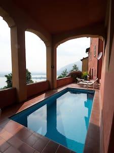Appartamento con piscina privata - Galbiate - 公寓