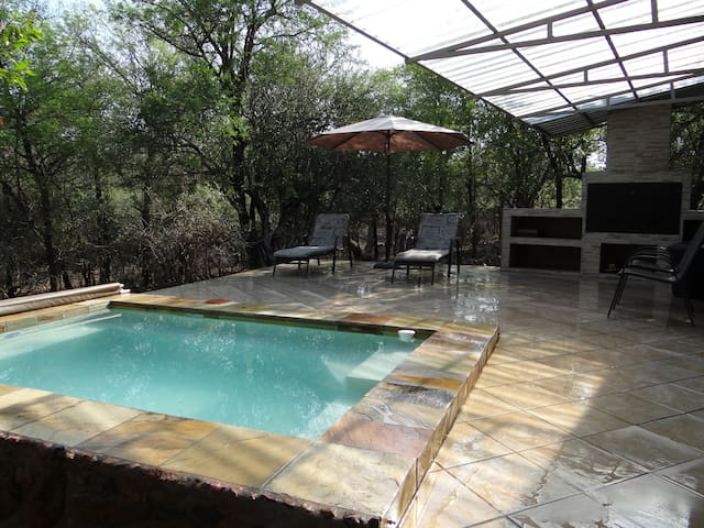 Tshwarelano  -  African wildlife at your deck!!
