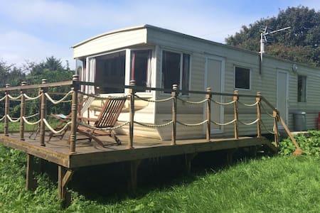 Static caravan, beautiful rural setting NR St Ives - Cornwall - 露营车/房车