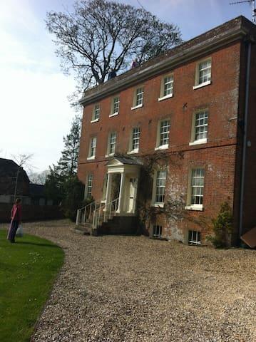 Historic house, World Heritage, Avebury & Ridgeway - West Kennett - Hus