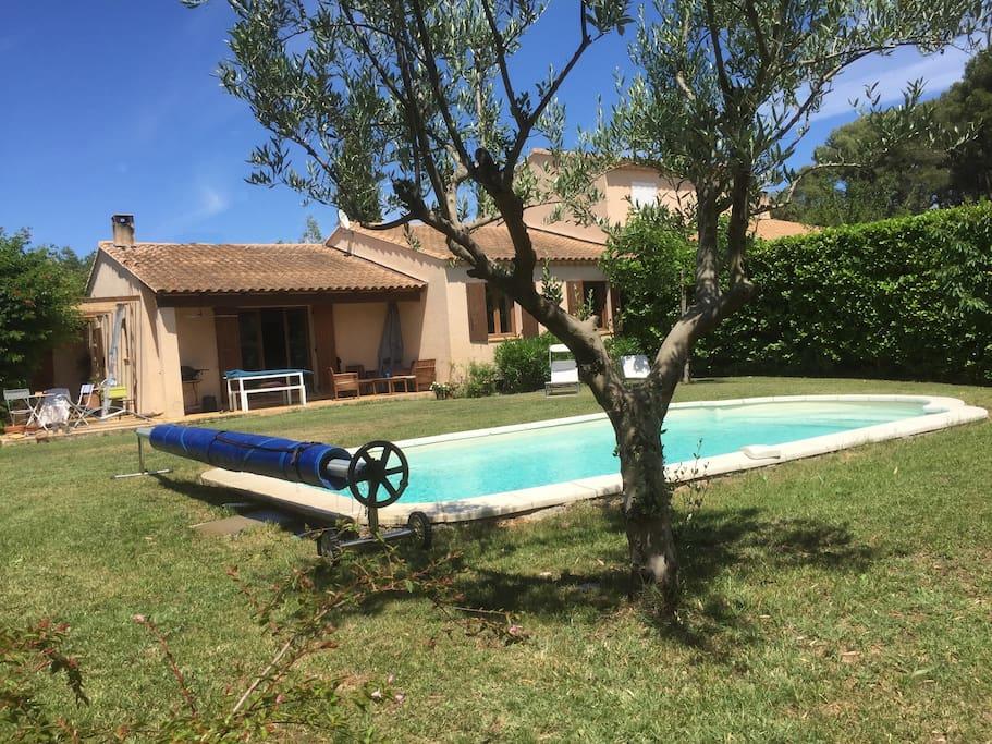 Villa Avec Piscine Eguilles Proche Aix En Provence