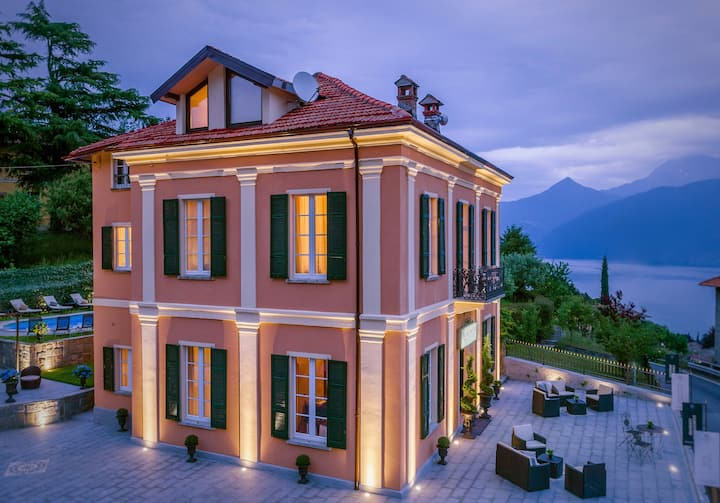 The Lake Como Villa