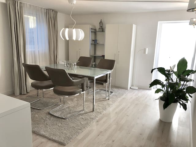 Trade fair flat in Meerbusch near Düsseldorf