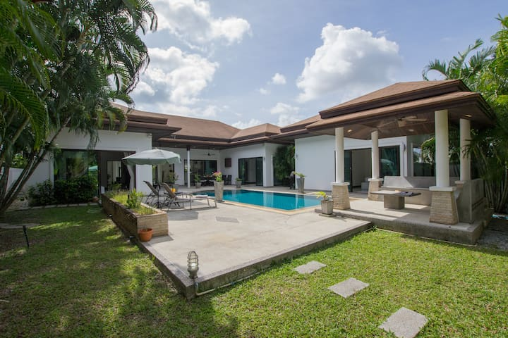 Exquisite Boutique Villa, Pool, 3 bedrooms, Rawai