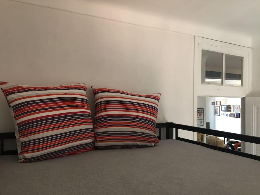 Bedroom 1 - Full size top bunk
