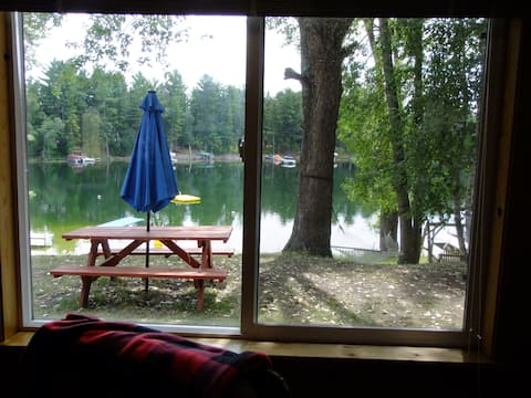 Beautiful Lake Belle Taine Three Bed Cabin 7