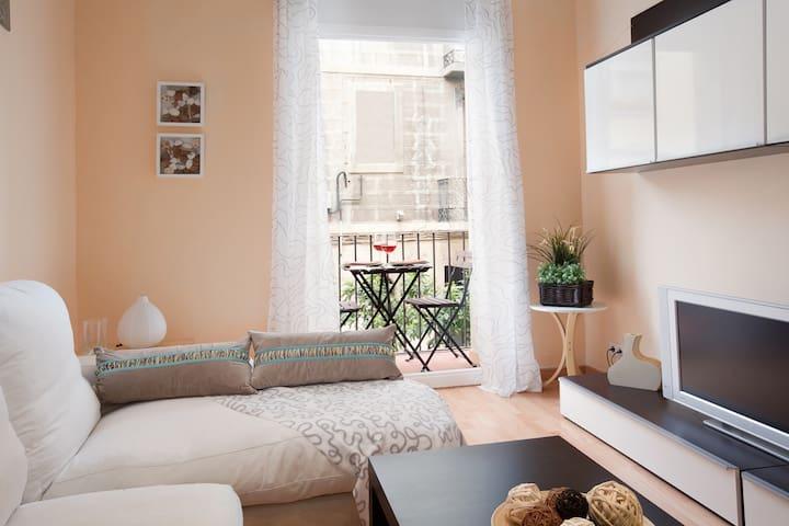 Beautiful apartment next to rambla poble nou - Barcelona