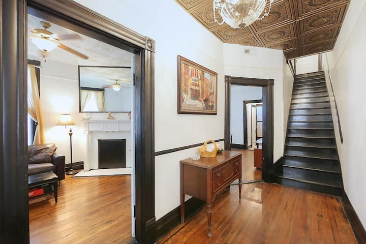3-Bedroom Townhouse- Edge of Downtown: The Paquita