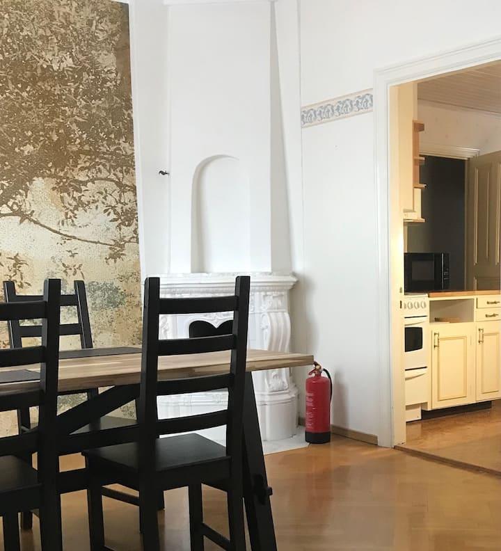 Stor lägenhet centralt i Nybro!