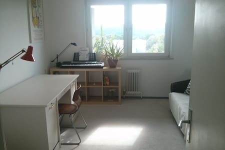 Great room near forest and close to Südbahnhof - Apartment