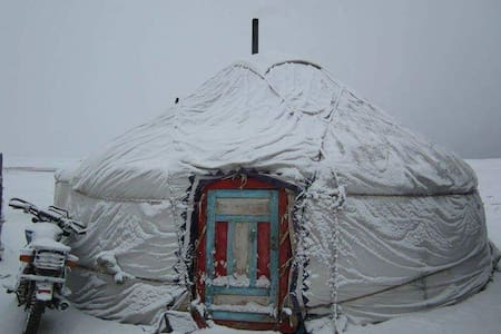 Yurt in the Wilds of Mongolia