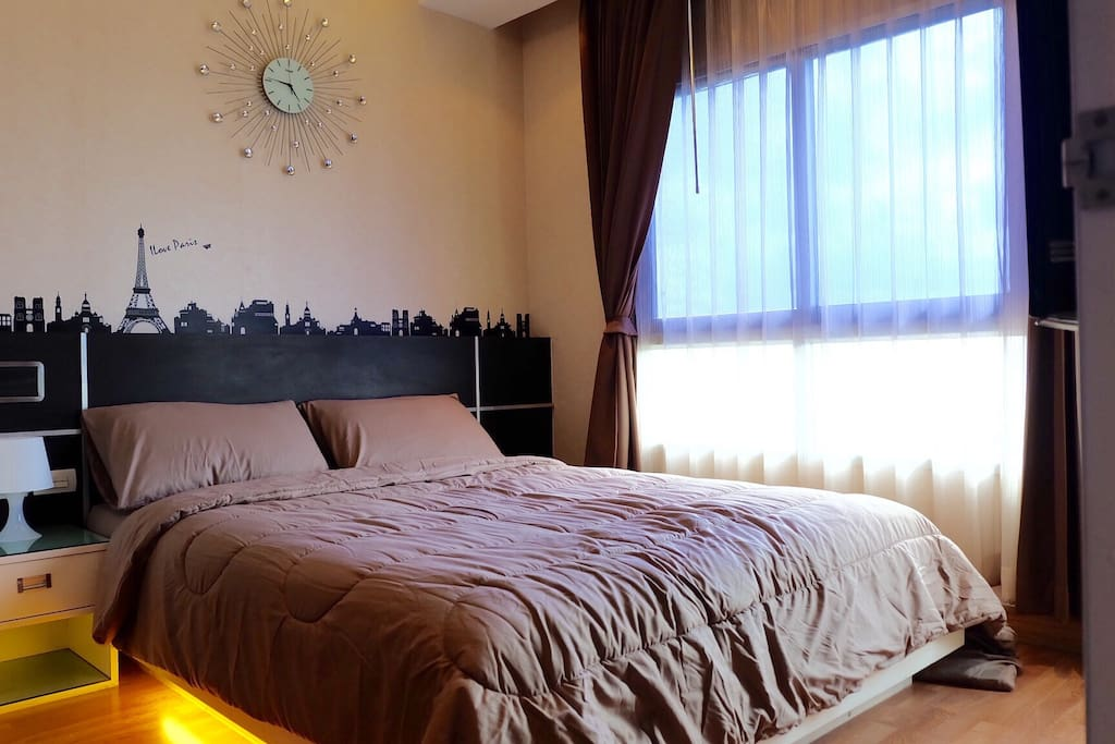 1bedroom with Chaopraya river view