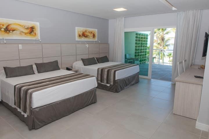 Hotel Vicino Al Mare -  Quarto Premium Frente ao Mar