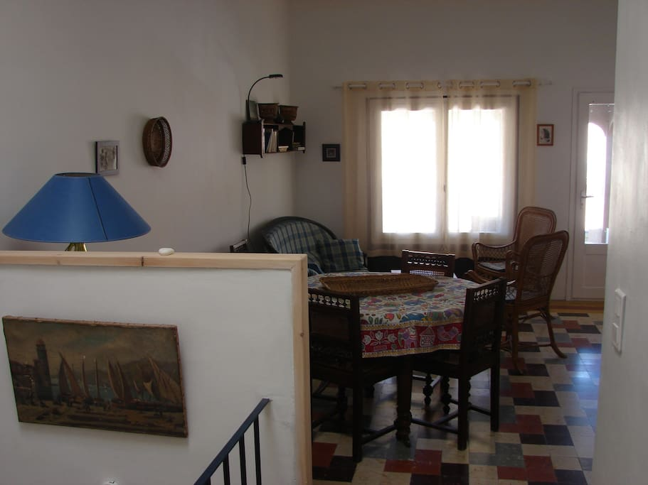 Séjour à l'étage
