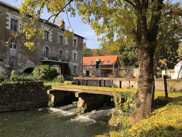 Le Moulin de Moque Souris, à trois km d'Amboise