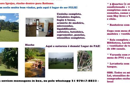 Rancho do Cocoricó a place to be happy! - Saquarema - Kabin