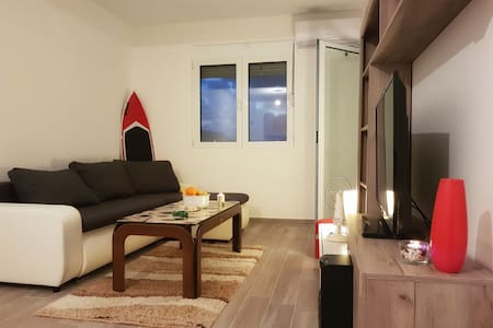 Excellent apartment, only 5 min away from beach.