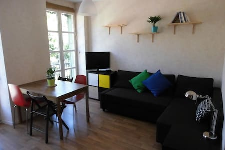Cosy flat with terrace&elevator in the city-center - Apartemen