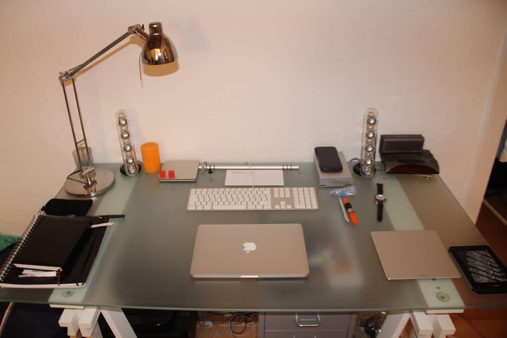 Schreibtisch/Workspace