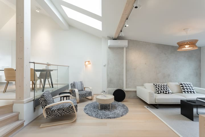 Nordic Design Penthouse
