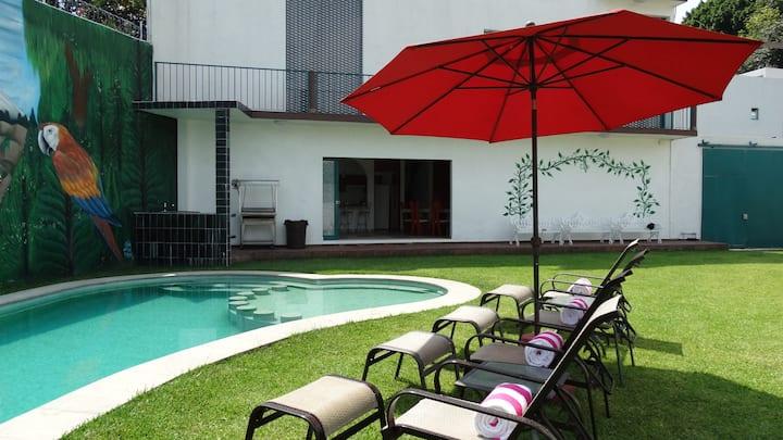 Hermosa Casa con Alberca Climatizada y Privada