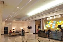 Venice Residences Lobby to welcome guest.