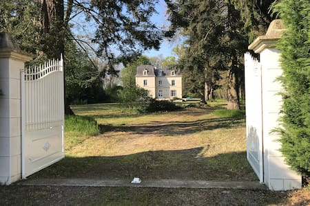Large family house on 10 acres of mature trees
