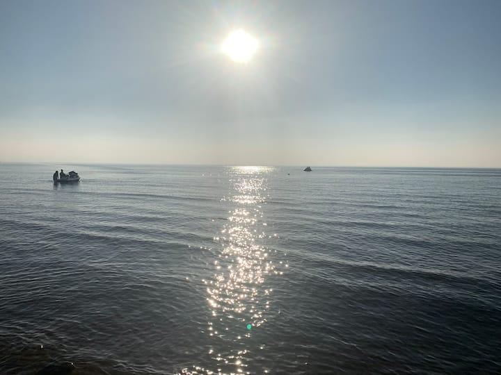 Le calme Entre mer et forêt