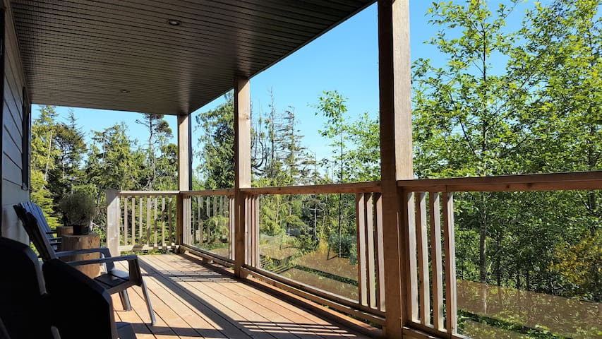 Covered Private Deck
