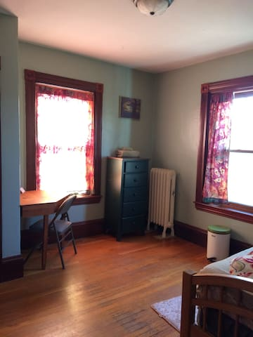 "2nd Floor Bedroom Near Boston (""tree room"") LGBT +"