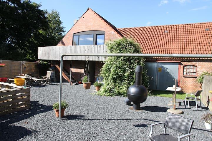 Ryttergaard Viborg / Silkeborg - Kjellerup - Gjestehus