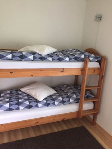 Bedroom 2 with bunkbed