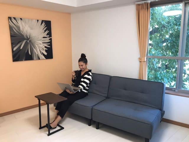 #403 新築・世田谷【迎春セール中!】Newly Clean Private Room for 2