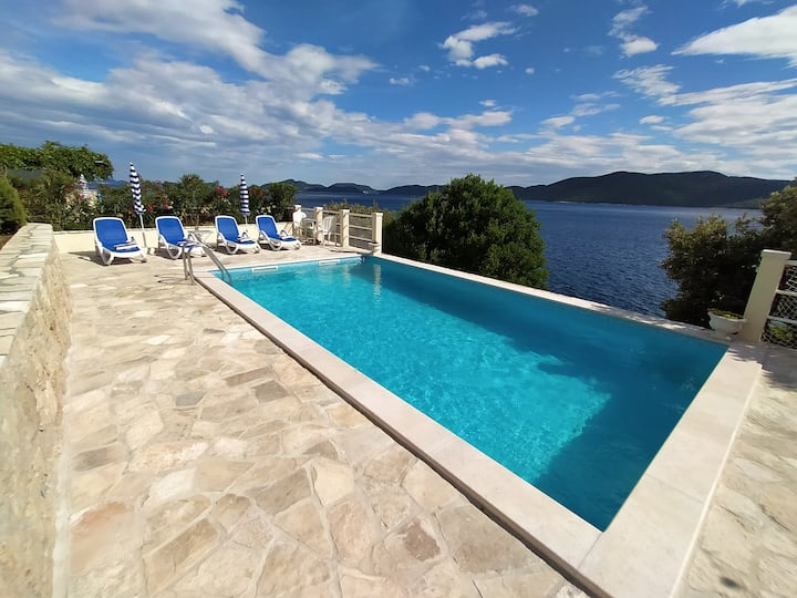 Villa Planika for 5 pax,w/swimming pool, Dubrovnik
