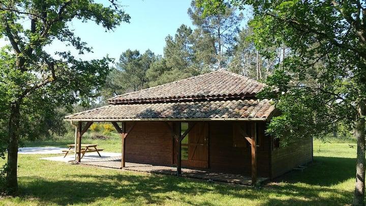 Maison  dans la forêt cadre et interieur idyllique