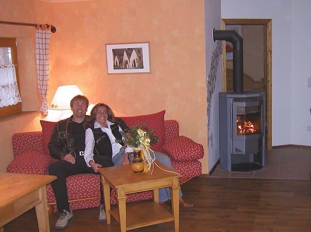 Holzhütte im Romanitk Chalet