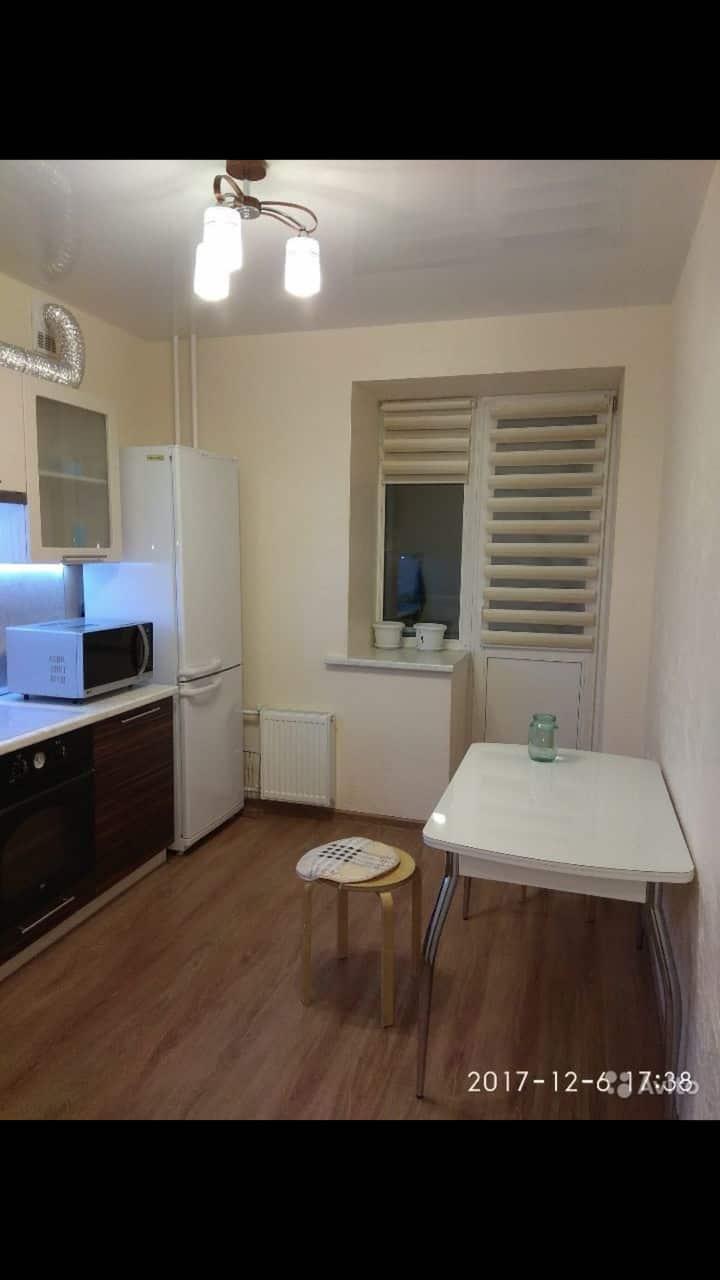 Красивая квартира с ремонтом и техникой