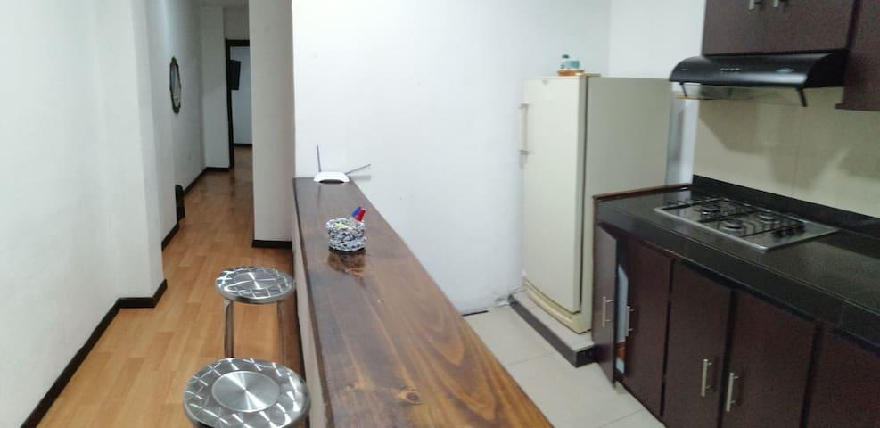 Estiloso apartamento en el centro económico